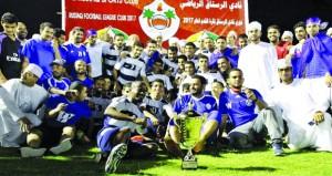 فريق الوشيل يتوج بطلا والهلال وصيفا لدوري نادي الرستاق لكرة القدم