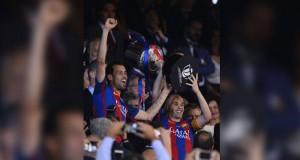 فى كأس اسبانيا: برشلونة ينقذ موسمه بلقب ثالث على التوالي
