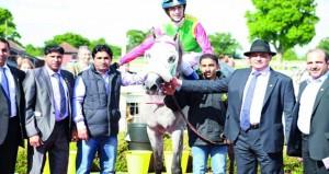 فوز الحصان طامح للخيالة السلطانية بسباق تاونتون البريطاني