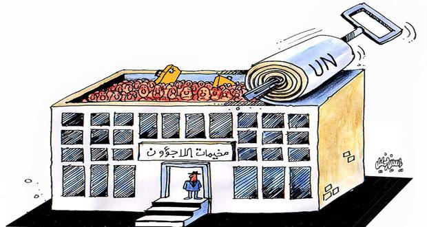 مخيمات اللاجؤون