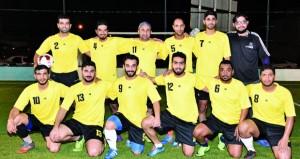 فريقا التعاون والشفافية في نهائي دوري عمانتل الرمضاني