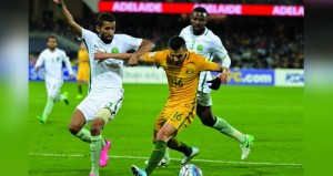 أستراليا تحقق فوزا ثمينا على السعودية3-2 في تصفيات مونديال 2018