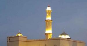 إفتتاح مسجد الأبرار بالحمراء بتكلفة بلغت مائتي ألف ريال عماني