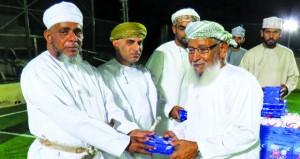 تكريم الفائزين بالمسابقات الثقافية الرمضانية بفريق بمه بقريات