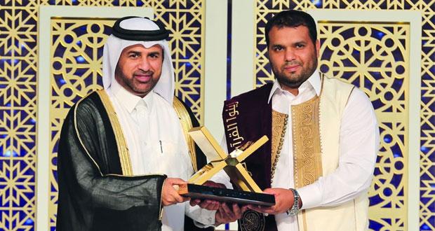 تتويج الفائزين بالنسخة الأولى لجائزة كتارا لتلاوة القرآن الكريم
