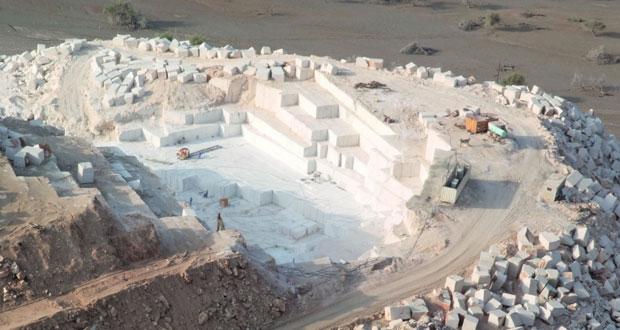"""الحركة الاقتصادية والعمرانية ترفع معدلات الطلب على مواد البناء وجهود كبيرة تبذلها """"هيئة التعدين """" لتحفيز الاستثمار في الكسارات والمحاجر"""