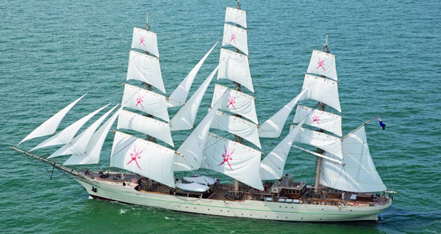 سفينة البحرية السلطانية العمانية (شباب عمان الثانية) تصل اليوم مملكة إسبانيا