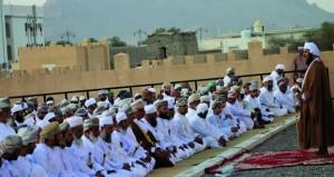محافظات وولايات السلطنة تحتفل بأول أيام عيد الفطر المبارك
