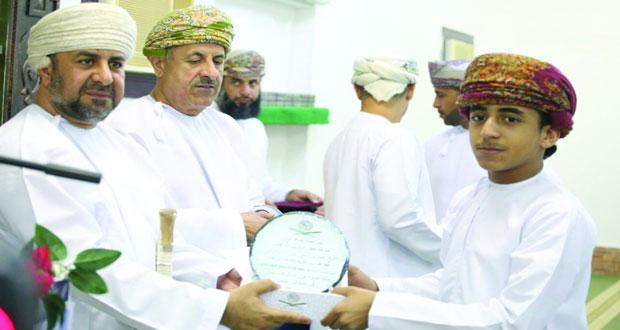 ختام مسابقة المرحوم الشيخ ناصر الزعابي لحفظ وتلاوة القرآن الكريم بصحم