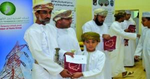 ختام مسابقة حفظ القرآن الكريم لفريق الاتحاد ببركة الموز