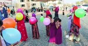 تواصل فعاليات ومظاهر عيد الفطر المبارك بولاية الحمراء