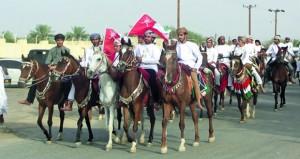 اختتام فعاليات وبرامج مهرجان العيود بولاية عبري
