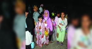 احتفالية متنوعة للأطفال بينقل بمناسبة عيد الفطر السعيد