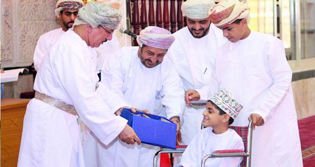 ختام مسابقة حفظ القرآن الكريم بجامع الشيخ سعيد بن عبدالله الجرادي بالمصنعة