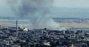 عدوان إسرائيلي جديد على (القنيطرة) والجيش السوري يراه دعما للارهابيين