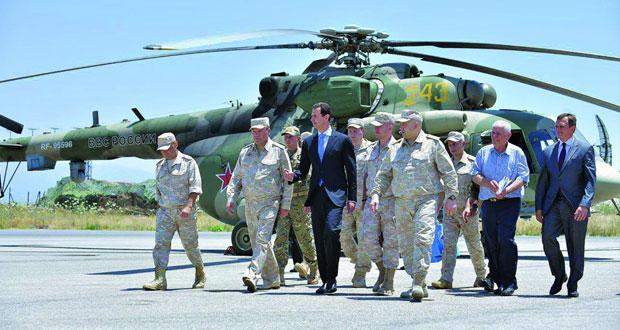 الجيش السوري يتقدم في(دير الزور) وروسيا ترفض التهديدات الأميركية لدمشق