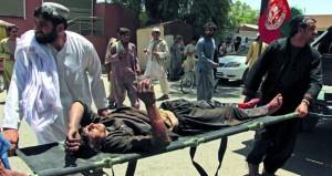 أفغانستان: عشرات القتلى والجرحى في انفجار (مفخخة)