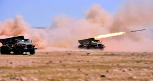 سوريا :الجيش يستعيد 1400 كم من (البادية) وتعزيزات ضخمة حول (درعا)