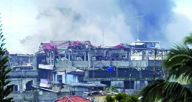 الفلبين: لا صفقة مع المسلحين المتحصنين في ماراوي