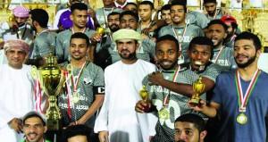 الجزيرة بطلا لشـجع فريقك على حسـاب النصر بمحافظة البريمي