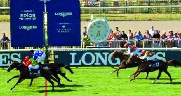 الحصان نفيس يفوز بسباق الداربي الفرنسي