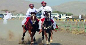 إثارة وتشويق تشهدهما استعراضات الخيول والمسابقات الرياضية والتراثية