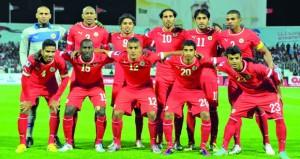 اليوم .. البحرين وفلسطين وديا استعدادا للتصفيات الآسيوية