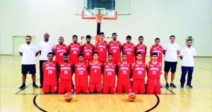 منتخبنا الوطني لشباب السلة يبدأ معسكره الداخلي الثاني بمحافظة البريمي