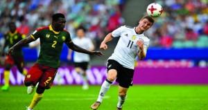 في كأس القارات: تأهل المانيا وتشيلي إلى نصف النهائي لملاقاة المكسيك والبرتغال
