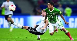 في بطولة كأس القارات : شباب ألمانيا يتفوق على الماتدور المكسيكي برباعية مثيرة ويواجه تشيلي في النهائي