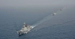 تنفيذ(العبور) بين عدد من سفن البحرية السلطانية و(الواجب 150) الصينية