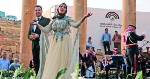 افتتاح الدورة32 لمهرجان جرش للثقافة والفنون بالأردن