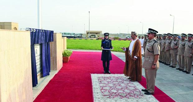 شرطة عمان السلطانية تحتفل بإفتتاح مبنى إدارة التوقيف بصحار