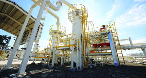 """""""الغاز العمانية"""": مشروع توصيل الغاز للدقم سيدخل حيز التشغيل بحلول 2019"""