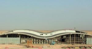 70% إنجازا بمشروع مبنى المسافرين بمطار الدقم