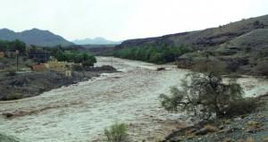 تواصل هطول الامطار الرعدية على عدد من ولايات السلطنة