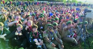 كشافة السلطنة يشاركون في فعاليات المخيم الكشفي العالمي بالدنمارك