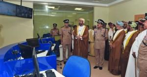 شرطة عمان السلطانية تحتفل بافتتاح مركز شرطة مرباط