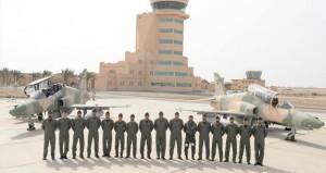 سلاح الجو السلطاني العماني يحتفل بوصول الدفعة الأولى من طائرات (الهوك) التدريبية