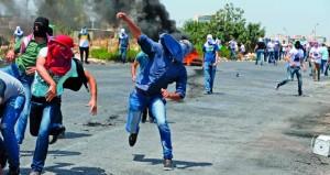 إصابات بالرصاص باعتداءات إسرائيلية في الأراضي المحتلة واعتقال عشرات الفلسطينيين
