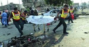 باكستان: هجوم انتحاري لطالبان يقتل العشرات في لاهور
