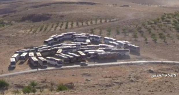 لبنان: قوافل حافلات (النصرة) تستعد لاستكمال (التبادل) مع حزب الله