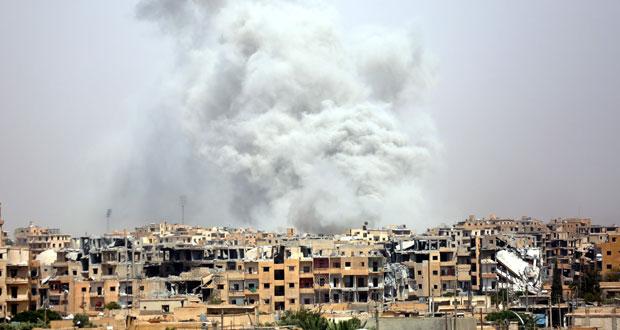 الجيش السوري على مشارف السخنة ويدك أوكاراً لـ(الإرهاب) بريفي حماة وحمص