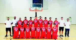 منتخبنا الوطني لشباب السلة ينتقل لمعسكره الرابع بمجمع الرياضي بصحار