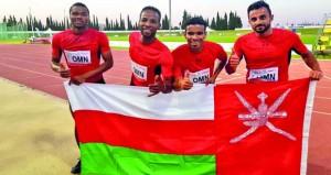في البطولة العربية لألعاب القوى.. منتخبنا ينهي مشاركته برصيد خمس ميداليات بين فضية وبرونزية