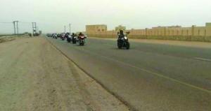 نادي عمان رايدرز يبدأ رحلة مسيرة نهضة عمان 47 إلى محافظة ظفار