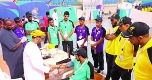 تواصل مناشط وفعاليات معسكر شباب الأندية بمحافظة جنوب الشرقية 2017