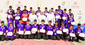 ختام ناجح لفعاليات وبرامج معسكر شباب الأندية2017 في نسخته الثانية بولاية صور