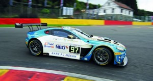 عمان لسباقات السيارات أول المنطلقين في سباق سبا البلجيكي لبطولة بلانك بان