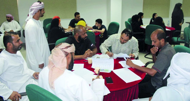 تفاعل كبير تشهده فعاليات و أنشطة برنامج شبابي بمحافظة البريمي